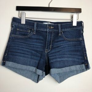 Abercrombie & Fitch Size 6 28 Cuffed Jean Shorts